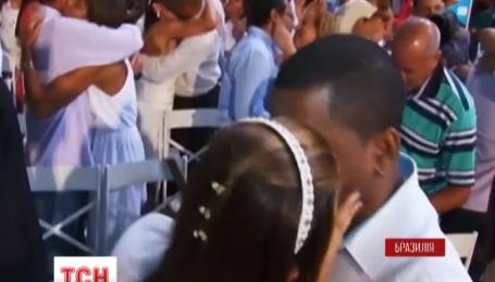 Наймасовіше весілля за всю історію міста зіграли у Ріо-де-Жанейро