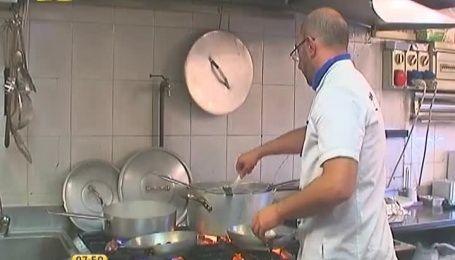 В Италии можно полакомиться пастой с чернилами каракатицы