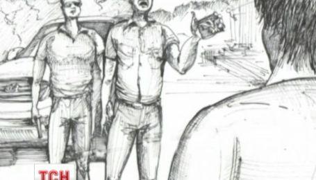 Художник Сергій Захаров намалював те, що з ним робили ДНРівці, коли тримали у полоні
