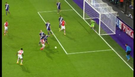Андерлехт - Арсенал - 1:2. Відео голу Подольскі