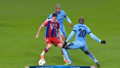 Манчестер Сіті - Баварія - 3:2. Відео матчу