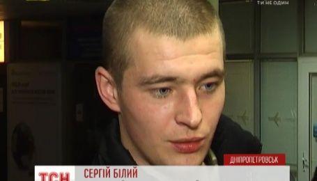 Медики Литвы поставили солдата Сергея Белого на ноги