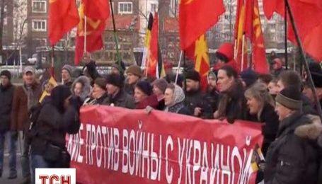 Русские в Москве радовались, что украинцы без Януковича и скандировали против войны с Украиной