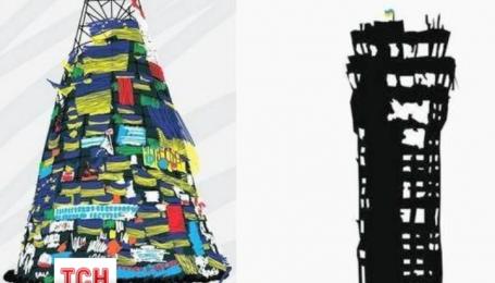 Символом року, що минає, стала обгоріла вежа донецького аеропорту