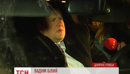 В Днепропетровске поймали пьяного прокурора за рулем