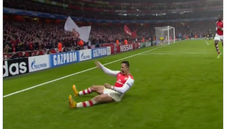 Арсенал - Боруссія Дортмунд - 2:0. Відео голу Санчеса