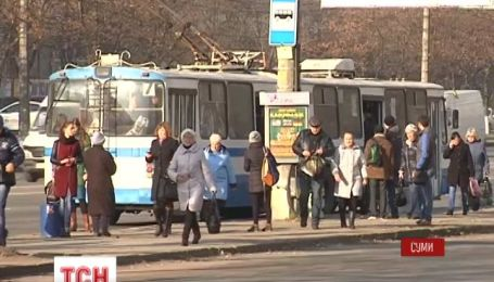 В Сумах перевозчики объявили бессрочную забастовку