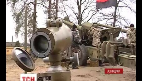 На Львовщине создали артиллерийскую бригаду, которая на 90% состоит из добровольцев