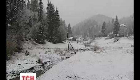 В Украину пришли похолодание и ночные заморозки