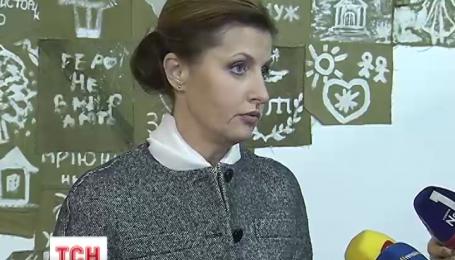 Марина Порошенко відзвітувала про результати своєї благодійної ініціативи