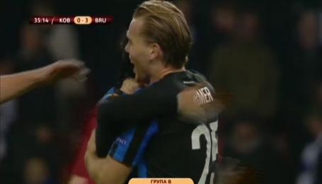 Копенгаген - Брюгге - 0:4. Видео-анализ матча