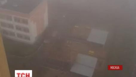 Происхождение ядовитого дыма в Москве до сих пор неясно