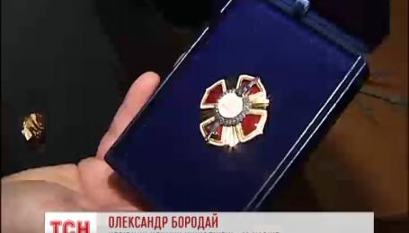 Участников АТО наградили государственными знаками отличия