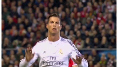 Ливерпуль - Реал - 0:1. Видео гола Роналду