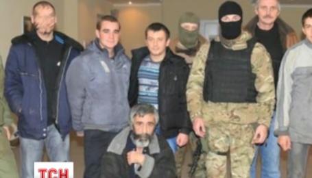 З російського полону на волю вийшли 6 українських вояків