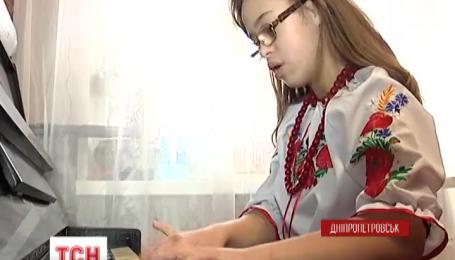 Дівчинка з синдромом Дауна привезла срібну медаль з музичного конкурсу