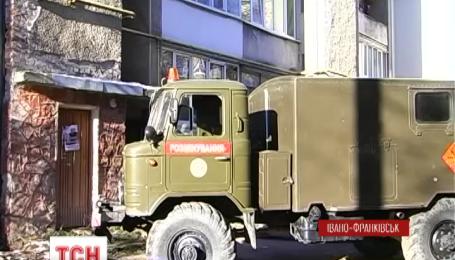 Боевую гранату нашли коммунальщики в Ивано-Франковске