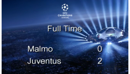 Мальме - Ювентус - 0:2. Відео матчу