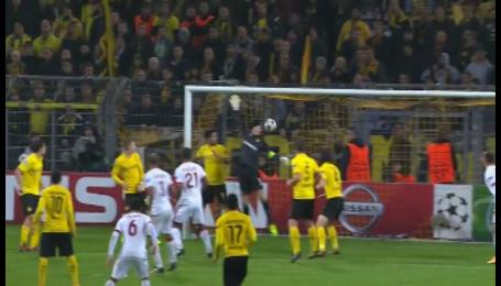 Боруссия Дортмунд - Галатасарай - 2:1. Видео гола Балты