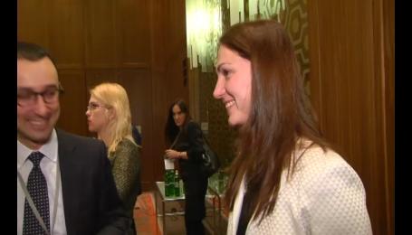 Супруг Анны Гопко не хотел пускать жену в депутаты