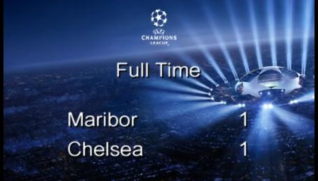 Марибор - Челси - 1:1. Видео матча