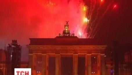 В Германии прошли празднования годовщины падения Берлинской стены