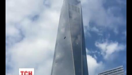Потрясающее спасение на высоте триста метров