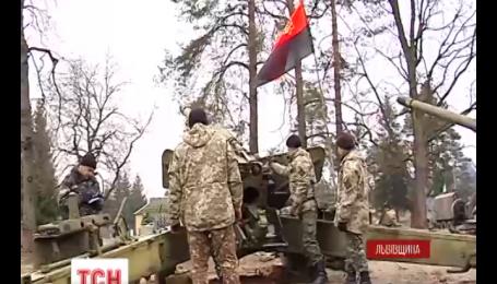 На Львівщині створили добровольчу артилерійську бригаду