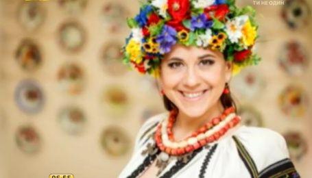 Анжелика Рудницкая получила медаль Квитки Цисык