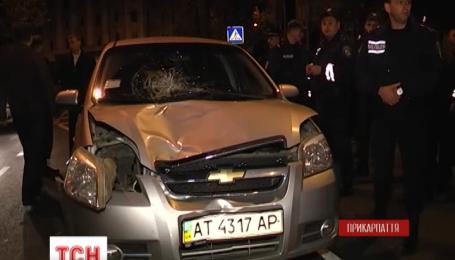 Майор милиции в Ивано-Франковске на пешеходном переходе сбил женщину