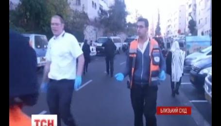 В єрусалимській синагозі двоє нападників вбили п'ятьох людей