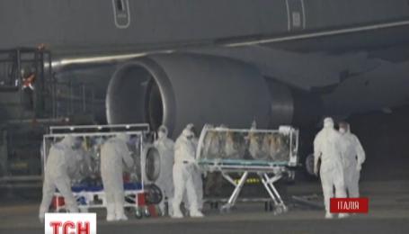 Лихоманка Ебола дісталася Італії