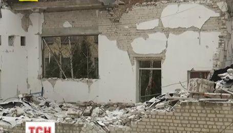 Кто и за какие средства будет восстанавливать часть зданий в зоне АТО