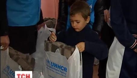 Агентство ООН по делам беженцев передало гуманитарную помощь семьям переселенцев