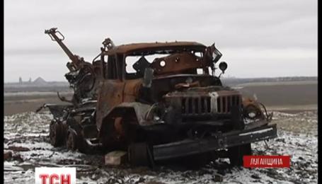 Курган Острая Могила одна из самых опасных и самых отдаленных украинских позиций