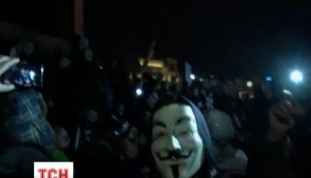 """В Лондоні пройшла акція протесту """"Марш мільйонів масок"""""""