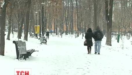 Настоящая зимняя погода ожидает украинцев на выходные
