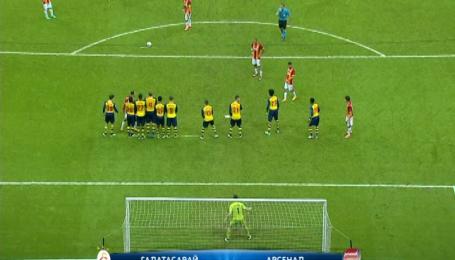 Галатасарай - Арсенал - 1:4. Відео матчу