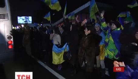 В Житомир приехали «киборги» с 95 бригады, которые защищали Донецкий аэропорт