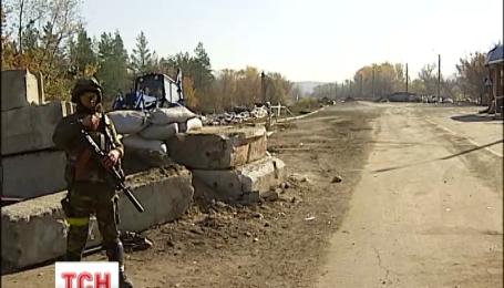 Бійці АТО залишили свої позиції біля Смілого на Луганщині