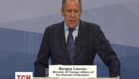 Лавров пожаловался, что Россию хотят заставить представлять боевиков