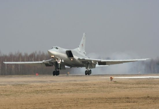 У Росії розбився військовий бомбардувальник