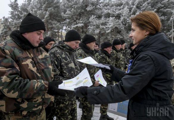 Петро Порошенко, Марина Порошенко в Чугуєві, День ЗСУ_3