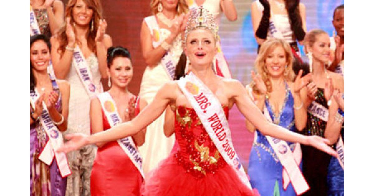 """В конкурсе """"Миссис Мира-2009 победила россиянка @ worldshowbiz.info"""
