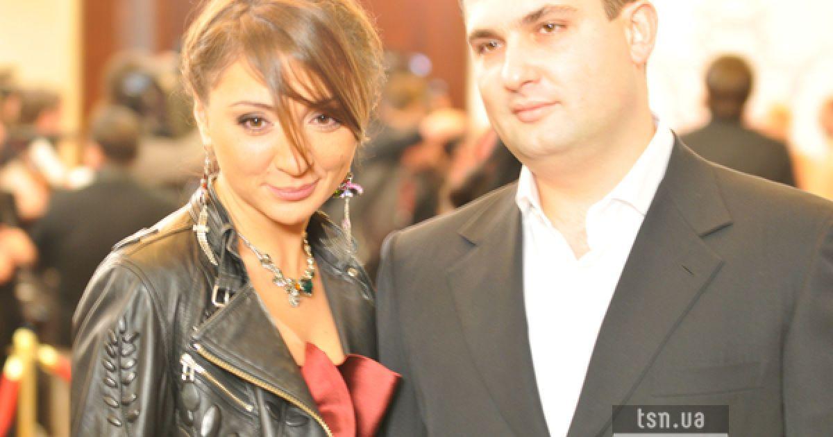 Елена Литвин с другом