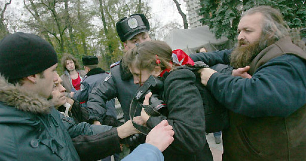 Акция Володарского @ Комерсант-Україна