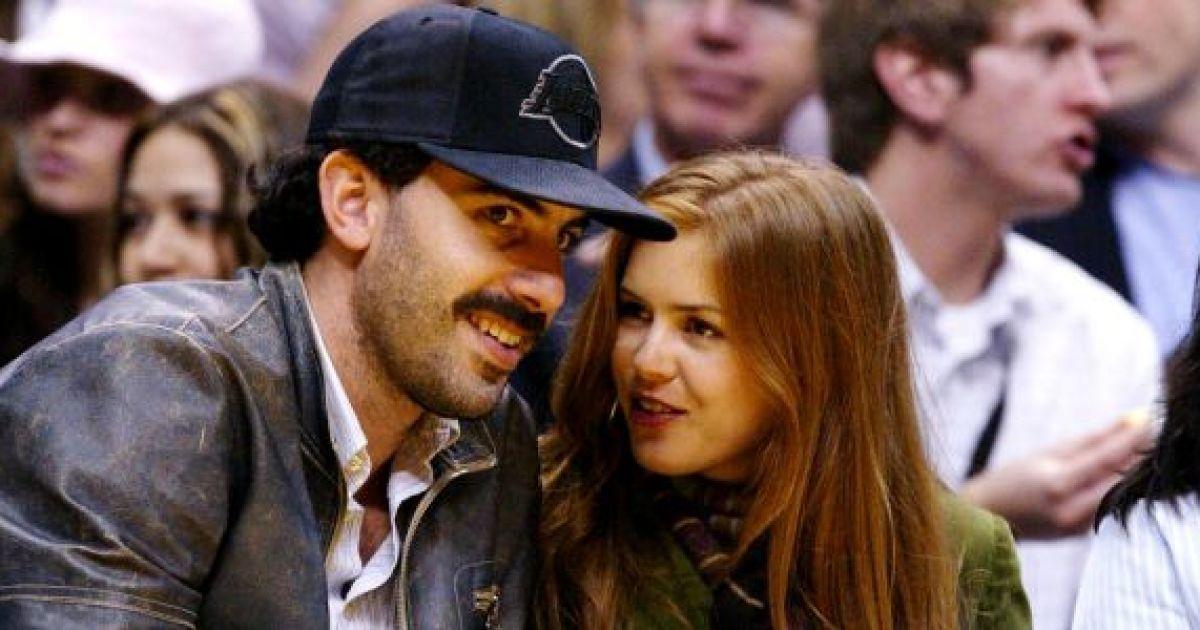 Саша Барон Коэн женился на Айве Фишер @ metro.co.uk