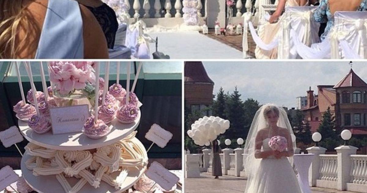 Весілля Тетяни і Олексія Довгого. @ uainfo.org