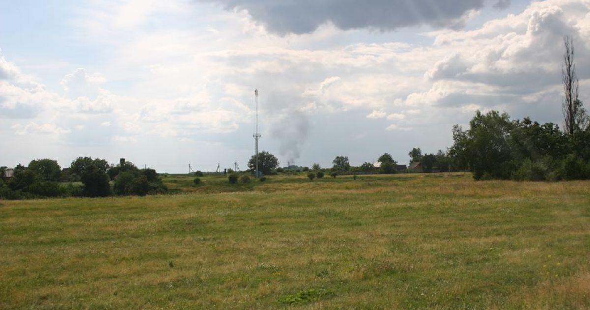 Очевидці зняли вибух на газопроводі на Полтавщині @ facebook.com/Орест Олійник