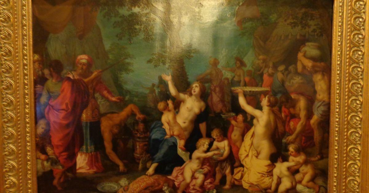 «Сбор манны небесной», Хендрик ван Бален и Ян Брегель Старший